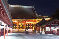 Asakusa  temple at Tokyo Japan. Senso-ji Temple (also known as Asakusa Kannon) is the most important of Tokyos buddhist temples Stock Photo
