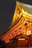 Asakusa  temple at Tokyo Japan Royalty Free Stock Photos