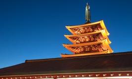 Asakusa  temple at Tokyo Japan Stock Photo