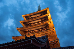 The Asakusa temple in Tokyo, Japan Stock Image