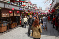 Asakusa, Tokio Foto de archivo libre de regalías