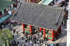 Asakusa, Tokyo Royalty-vrije Stock Foto's