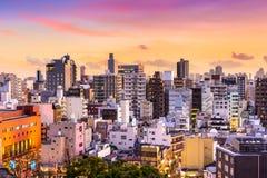 Asakusa, Tokyo, Cityscape van Japan royalty-vrije stock foto's