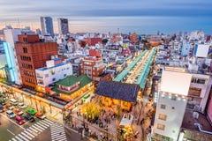 Asakusa, Tokyo, Japan. Cityscape. gate reads: `Kaminari-mon Gate Royalty Free Stock Photography