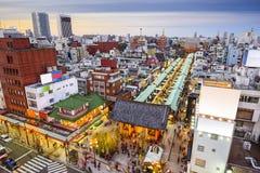 Asakusa, Tokyo, Japan Cityscape Stock Photography