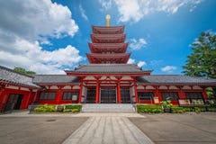 Asakusa, Tokyo, Japan - June 19, 2018 - Sensoji is an ancient Bu Stock Image