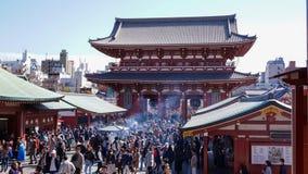 The Gate of Sensoji Temple stock image