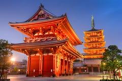 Asakusa Tokyo Shrine Stock Photo