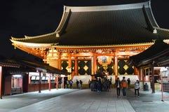 Asakusadera in Tokyo Stockbilder