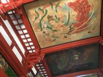 Asakusaplafond het schilderen Stock Afbeelding