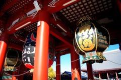 asakusatempel, tokyo, Japan Royaltyfria Foton