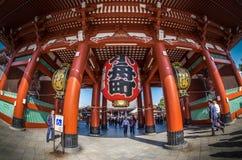 Asakusatempel in Tokyo, Japan Stock Foto's