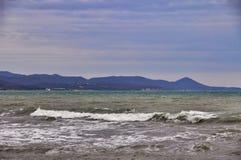 Asalte en el Mar Negro foto de archivo libre de regalías