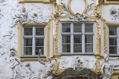 Asam房子在慕尼黑 免版税图库摄影