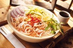 asam ασιατικό laksa τροφίμων στοκ φωτογραφίες