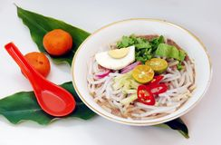 Asam laksa Stock Photo