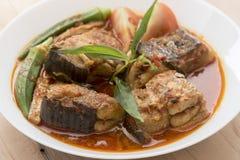 Asam Pedas, Malaysian cuisine Stock Photos