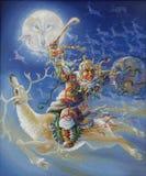 asama Северный шаман Автор: Nikolay Sivenkov бесплатная иллюстрация
