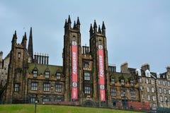 Asamblea de Edimburgo fotos de archivo libres de regalías