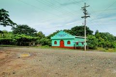 Asamblea de la iglesia de dios en el maquina del La, Guatemala Imagen de archivo libre de regalías