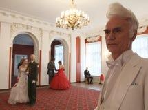 Asamblea de la nobleza de Moscú de la bola del resorte Fotografía de archivo