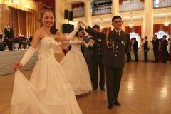 Asamblea de la nobleza de Moscú de la bola del resorte Imagen de archivo libre de regalías
