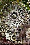 Asamblea de las piezas de la máquina Imagen de archivo libre de regalías