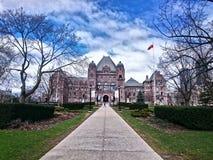 Asamblea legislativa de Ontario imagen de archivo