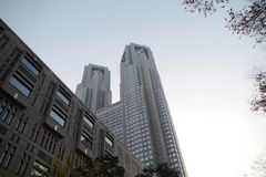 Asamblea metropolitana de Tokio, Shinjuku, Tokio, Japón Foto de archivo