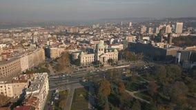 Asamblea nacional de la República de Serbia almacen de video