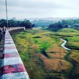 Asambosti-Brücke Stockfotos