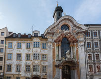Asamkirche Marble Facade Munich Germany Royalty Free Stock Photography