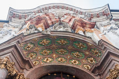 Asamkirche Marble Facade Munich Germany Royalty Free Stock Photo