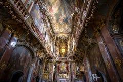 Asamkirche St约翰Nepomuk,慕尼黑,德国 库存图片
