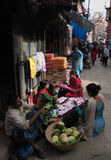 Asan basar Katmandu Nepal för jordskalv arkivbild