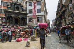 Asan Tole Market, Kathmandu, Nepal Royalty Free Stock Photography