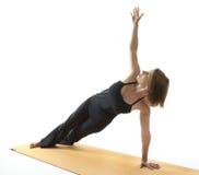 asana瑜伽 免版税库存照片