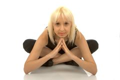 Asana da ioga Fotografia de Stock Royalty Free