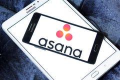Asana software logo Royalty Free Stock Photography