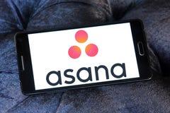 Asana software logo Royalty Free Stock Image