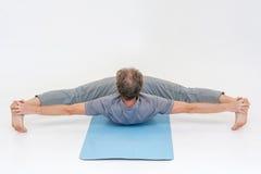 Asanas de la yoga imágenes de archivo libres de regalías