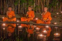 Asanha Puja Day Royaltyfri Fotografi