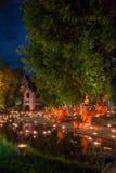 Asanha Puja Day Arkivbild