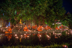 Asanha Puja Day. Royalty Free Stock Photography
