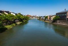 Asanogawa Ohashi Bridge Royalty Free Stock Image