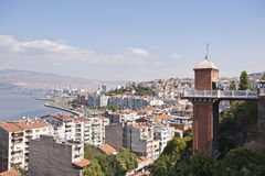 Asansör İzmir Fotografie Stock Libere da Diritti