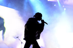 ASAP Rocky (rapper from Harlem and member of the hip hop collective ASAP Mob) in concert Stock Photography