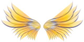 Asas 3 do pássaro ou do Fairy do anjo Fotografia de Stock Royalty Free