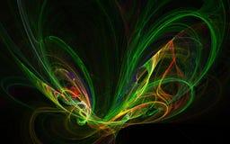 Asas abstratas Imagem de Stock