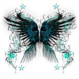 Asas da borboleta ilustração stock